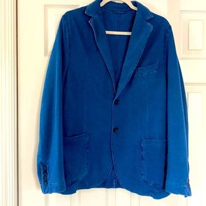 Altea Indaco 100% cotton blue jacket